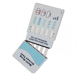 Test na 5 drog z moči AMP COC MET MOR THC 1 ks