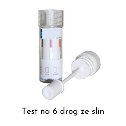 drogový test ze slin
