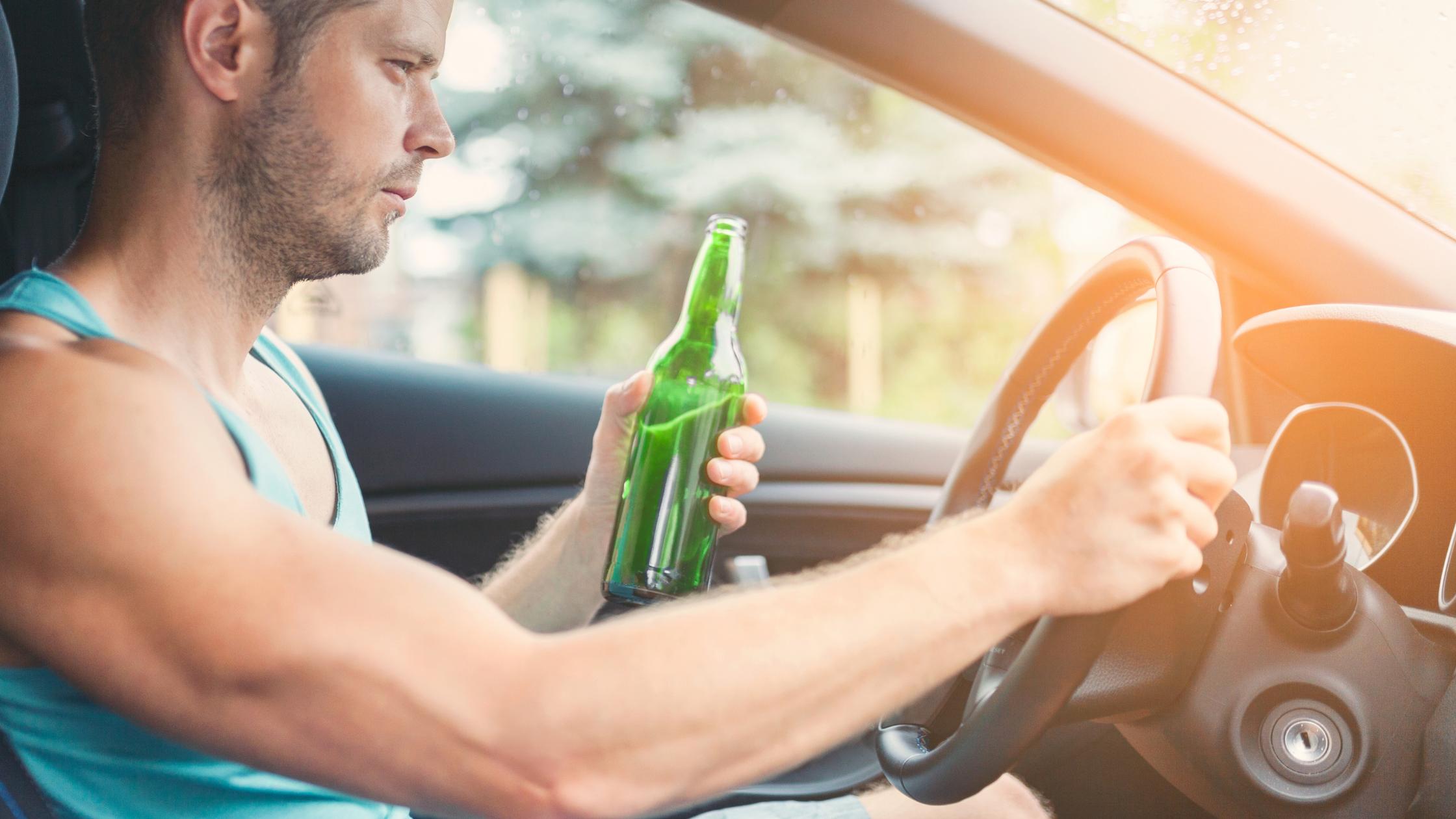 řízení pod vlivem alkoholu