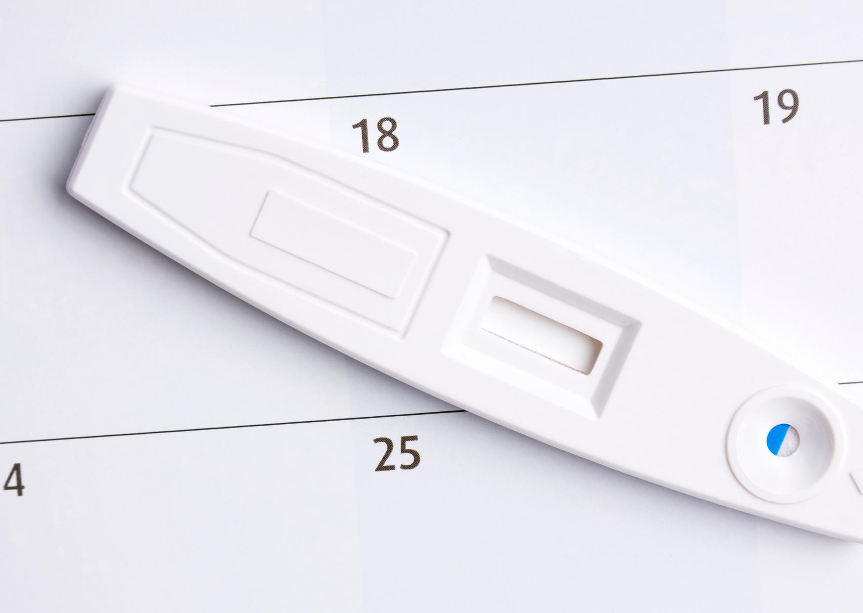 kazetový těhotenský test