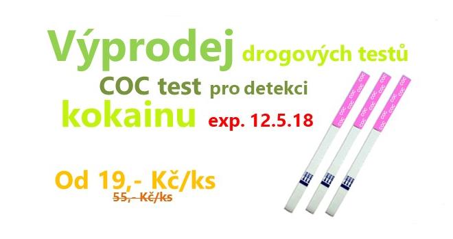 Výprodej COC test kokain